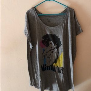 T-shirt gray Madonna